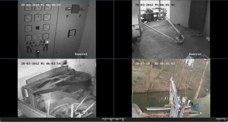 Videoueberwachung - Fernabfrage